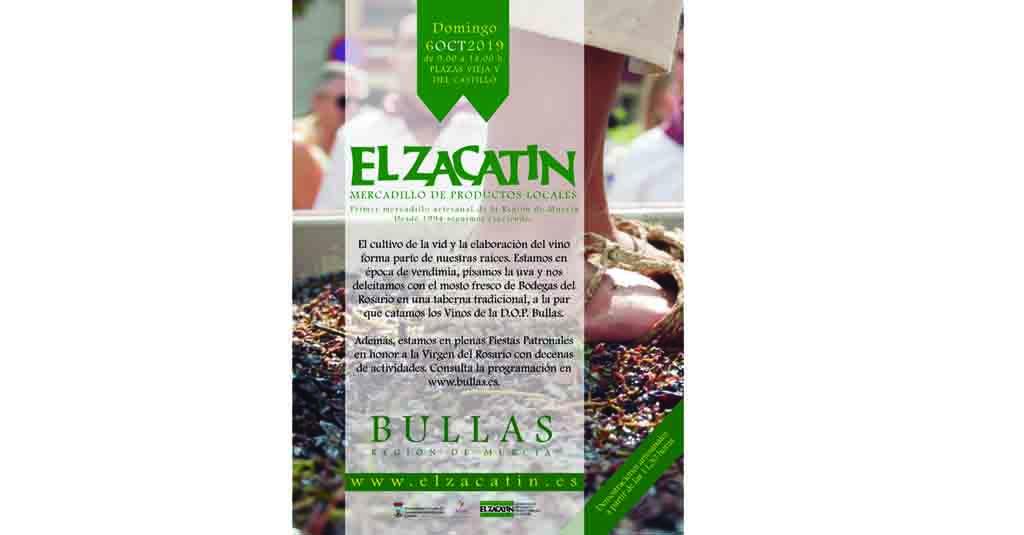 El Zacatín de octubre dedicado al vino