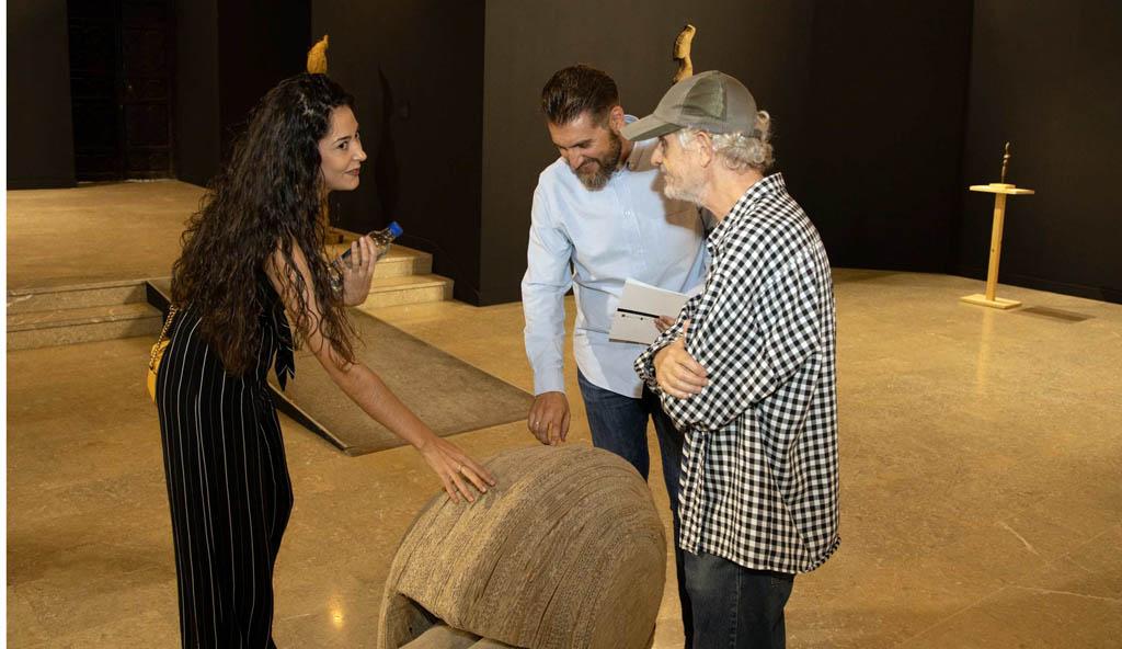 Las esculturas de Noemí Yepes, protagonistas de una nueva exposición en la Compañía