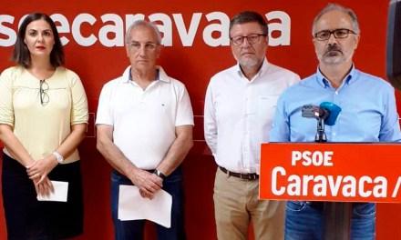 Los socialistas de Caravaca denuncian que PP y Cs se han opuesto a ahorrar más de 400.000 euros anuales