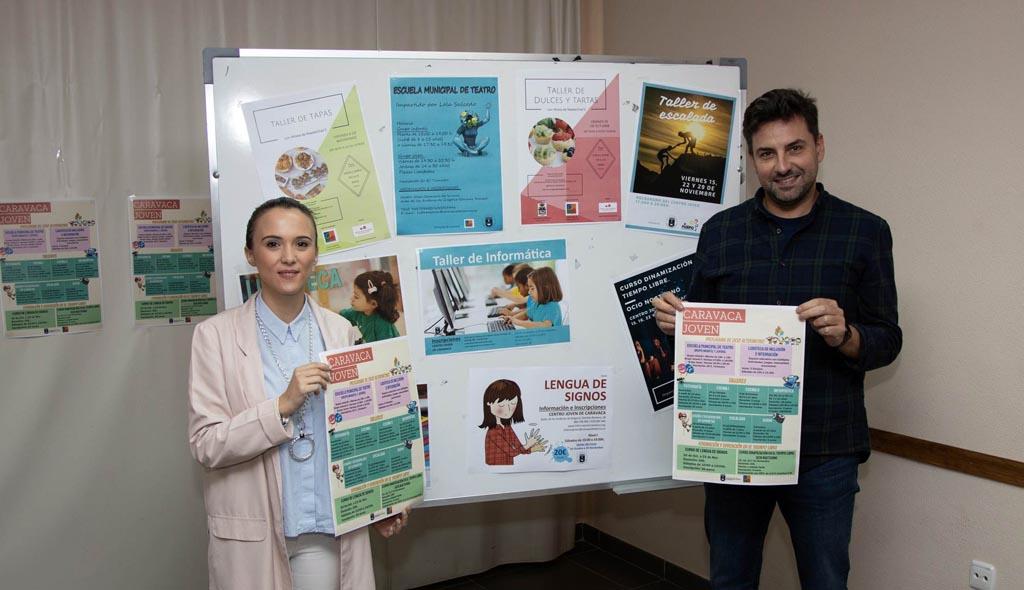 El Ayuntamiento de Caravaca presenta más de diez propuestas infantiles y juveniles de ocio alternativo para los fines de semana