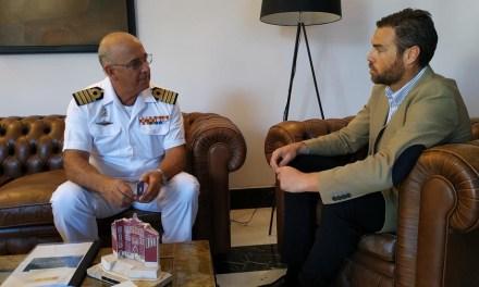 El alcalde de Caravaca de la Cruz mantiene una reunión con el delegado de Defensa en la Región de Murcia
