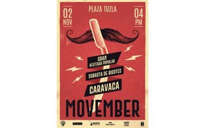 Movember vuelve a Caravaca de la mano de la Asociación Vikingos