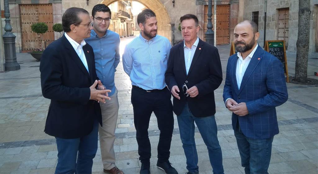 Ciudadanos apuesta en Caravaca de la Cruz por una rebaja del IRPF para los núcleos rurales de menos de 5.000 habitantes y un modelo económico sostenible