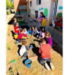 El huerto escolar como herramienta para un futuro medioambientalmente sostenible en el CEIP la Tercia de Benizar