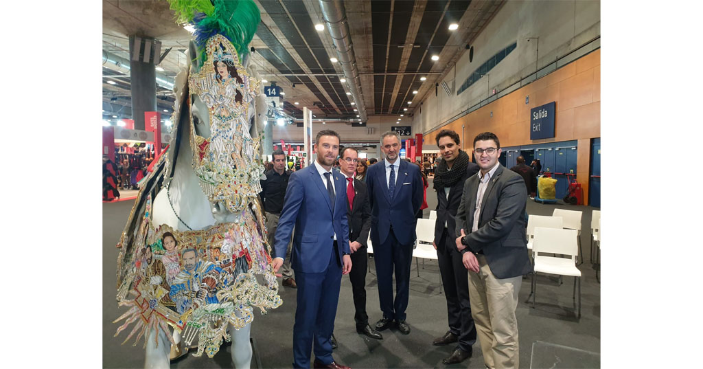 José Carlos Gómez promociona la candidatura de los Caballos del VIno a Patrimonio Inmaterial de la Humanidad en el Madrid Horse Week