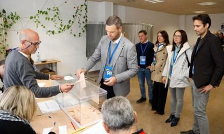 El PP vuelve a ser la opción mayoritaria en Caravaca de la Cruz con 4.096 votantes y consigue ganar en la mayoría de colegios  electorales del municipio