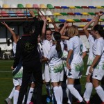 Se disputa el primer partido oficial de fútbol femenino en Calasparra