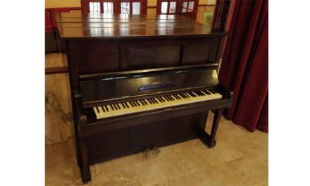 Mula recupera un piano de los años 20 del siglo XX