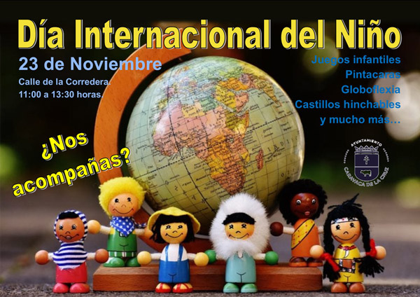 La Corredera acogerá, de 11.00 a 13.30 horas, hinchables, actividades lúdicas y talleres sobre los Derechos del Niño