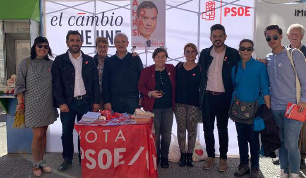 El PSOE pide el voto para que no gobierne España la extrema derecha
