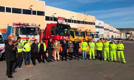 La Comunidad presenta el dispositivo para garantizar la seguridad en las carreteras de la Región ante posibles episodios de hielo y nieve
