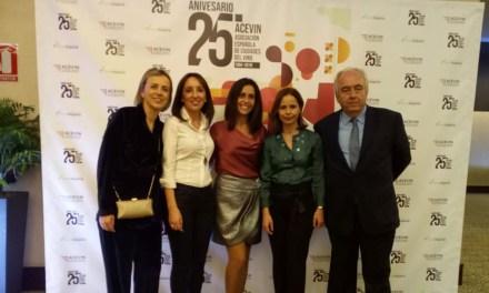El Ayuntamiento de Bullas acude al 25 aniversario de Acevin