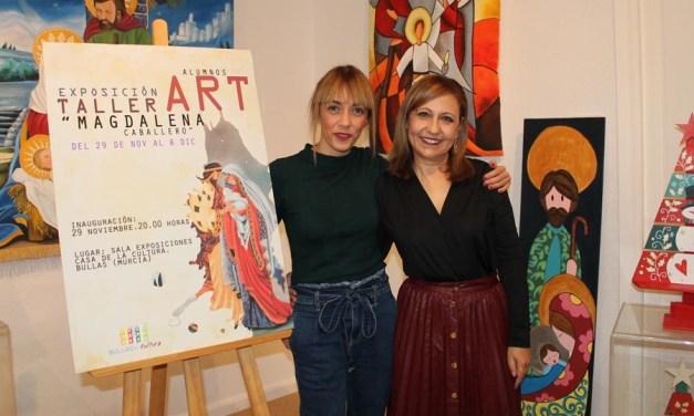 Hasta el 8 de diciembre se puede visitar la exposición de los alumnos de Magdalena Caballero en la Casa de Cultura de Bullas
