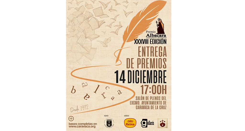 El certamen literario 'Premio Albacara' emite el veredicto sobre las obras ganadoras del 2019
