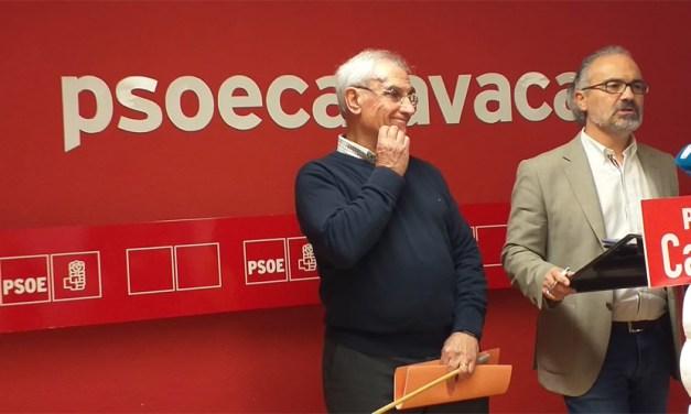 El PSOE acusa a José Francisco García de ser el «alcalde de la foto»