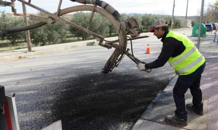 El Ayuntamiento de Caravaca pone en marcha un plan especial de reparación del bacheado en la calzada