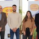 Postres Reina renueva el contrato de patrocinio deportivo con Pedro Vera y Nuria Vivancos
