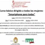 Curso básico en Pliego para el uso de teléfonos inteligentes dirigido a mujeres