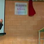 El equipo de Gobierno acude al homenaje del IES Federico Balart a la profesora Ana Rivas Huertas