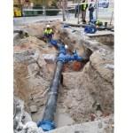 El Ayuntamiento Cehegín renueva un tramo de la red de agua potable para paliar las deficiencias de las pedanías y núcleos diseminados