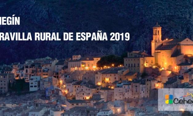 Cehegín promocionará en Fitur todo el patrimonio histórico, natural patrimonial y gastronómico  que le ha llevado a ser Primera Maravilla Rural de España
