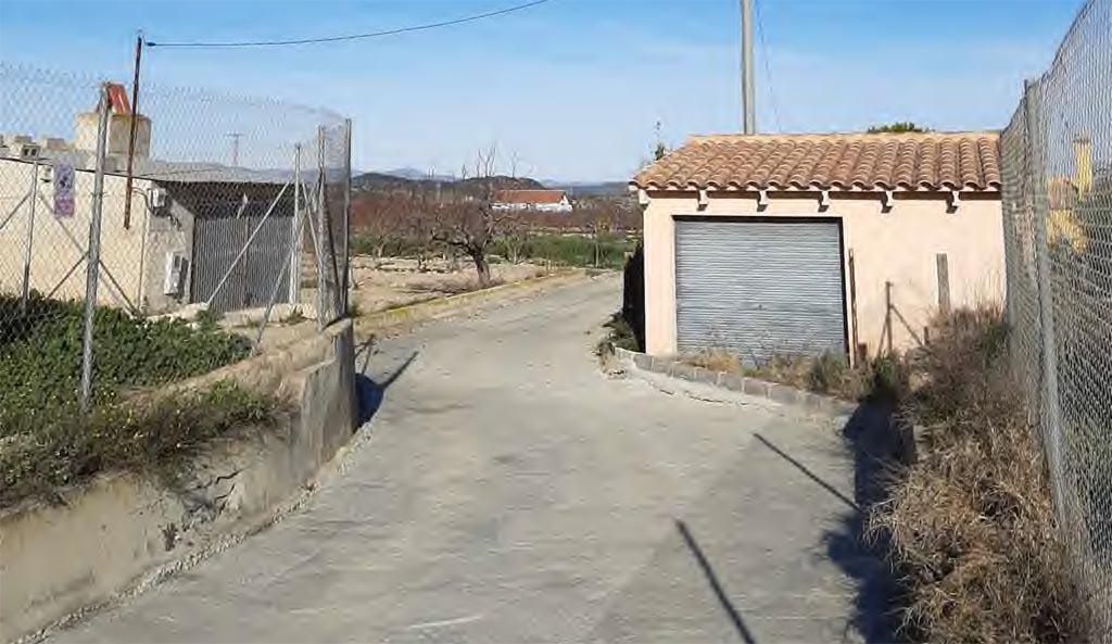 Arreglo del camino de Casa Hongora en Cañada de Los Olmos