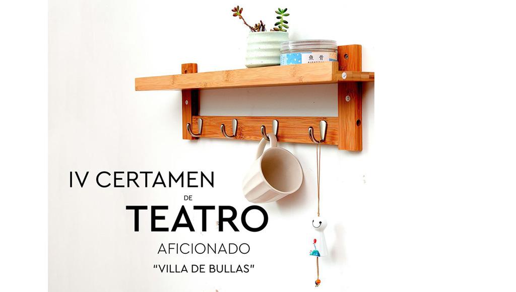 Del 24 al 26 de enero se celebra el IV Certamen de Teatro Aficionado «Villa de Bullas»