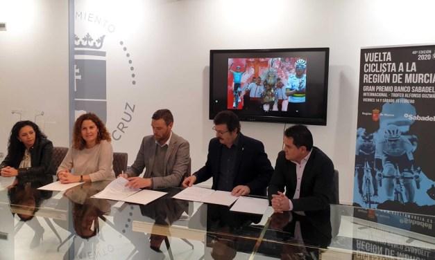 Los corredores de 'La Vuelta Ciclista a Murcia' finalizarán la etapa inaugural en la Cuesta del Castillo como apoyo a la candidatura UNESCO de los Caballos del Vino