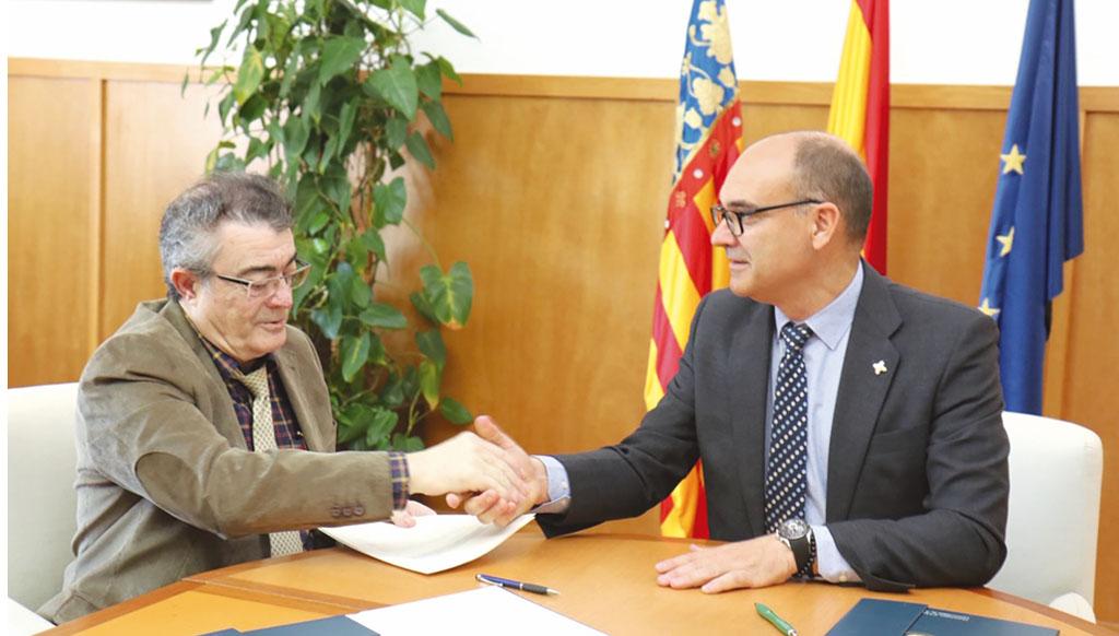 Los Regantes de Pliego se unen a la Universidad de Alicante