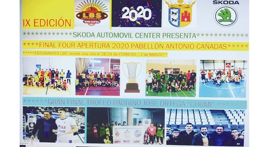 El pabellón Antonio Cañadas, sede de la Final Four Apertura 2020