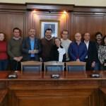 """El Rector de la Universidad """"Miguel Hernández"""" visita Cehegín, junto a su Equipo de Dirección, para impulsar lazos de colaboración entre ambas instituciones"""
