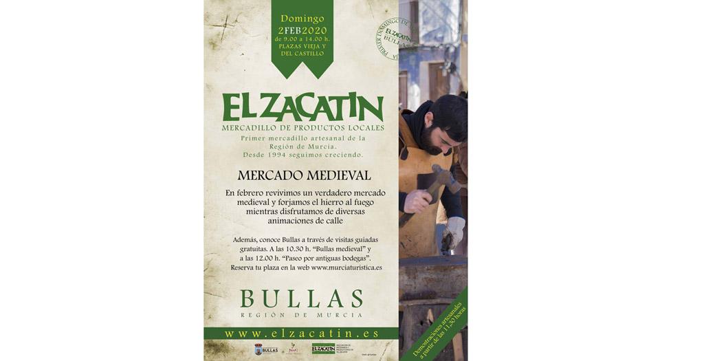 El Zacatín revive la Edad Media