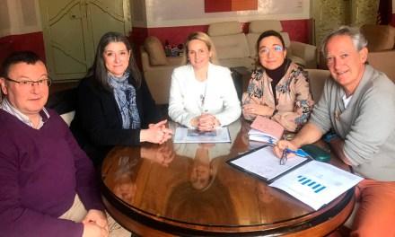 La Alcaldesa de Cehegín se reúne con el Equipo Directivo de la Escuela Oficial de Idiomas