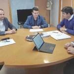 Reunión del Alcalde del Albudeite y el Director General del Servicio de Empleo y Formación