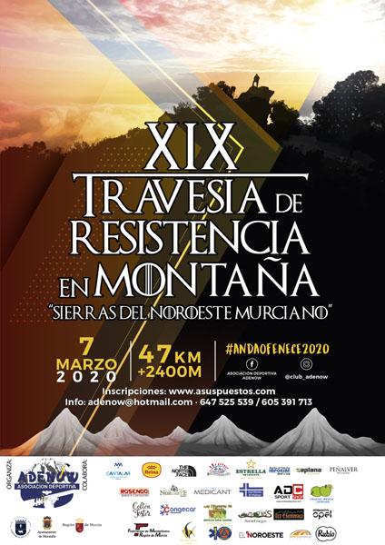 La XIX edición de esta prueba de montañismo -conocida en la Región como 'La Clásica' al ser la más antigua- tendrá lugar este sábado, organizada por el Club Deportivo Adenow, con la colaboración del Ayuntamiento de Caravaca y la Dirección general de Deportes
