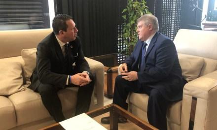 El Alcalde de Mula mantiene una reunión con el nuevo Delegado del Gobierno de la Región de Murcia