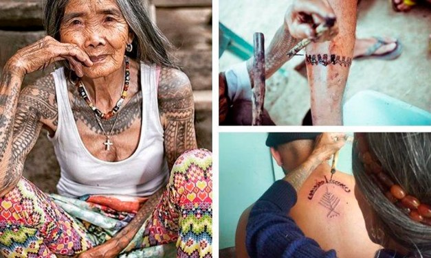 La última tatuadora Kalinga