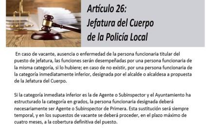El PSOE exige a Ciudadanos que se pronuncie respecto al «enturbiado y enmarañado» asunto de la Policía Local de Caravaca