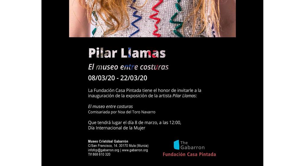 Muestra de la diseñadora Pilar Llamas en el Museo Cristóbal Gabarrón por el Día Internacional de la Mujer