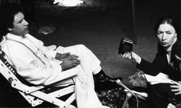 CoronaHistorias de Mujeres II: Oriana Fallaci, cómo encerrarse por estar en desacuerdo con el mundo.