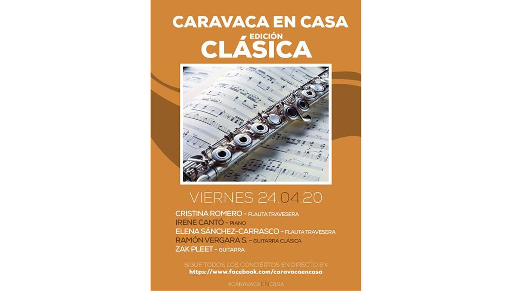 Caravaca en Casa nos trae este fin de semana música clásica y poesía