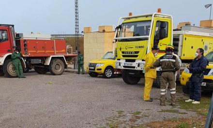 Las brigadas forestales realizan tareas de desinfección en Bullas