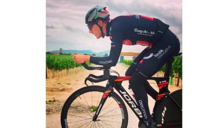 """""""Procuro mantenerme activo y no perder la rutina de los entrenamientos"""", Fran García Rus, ciclista"""