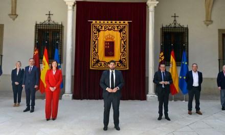 """López Miras: """"Abrimos la puerta a la reactivación económica y social en la que el diálogo constante será nuestra fortaleza"""""""