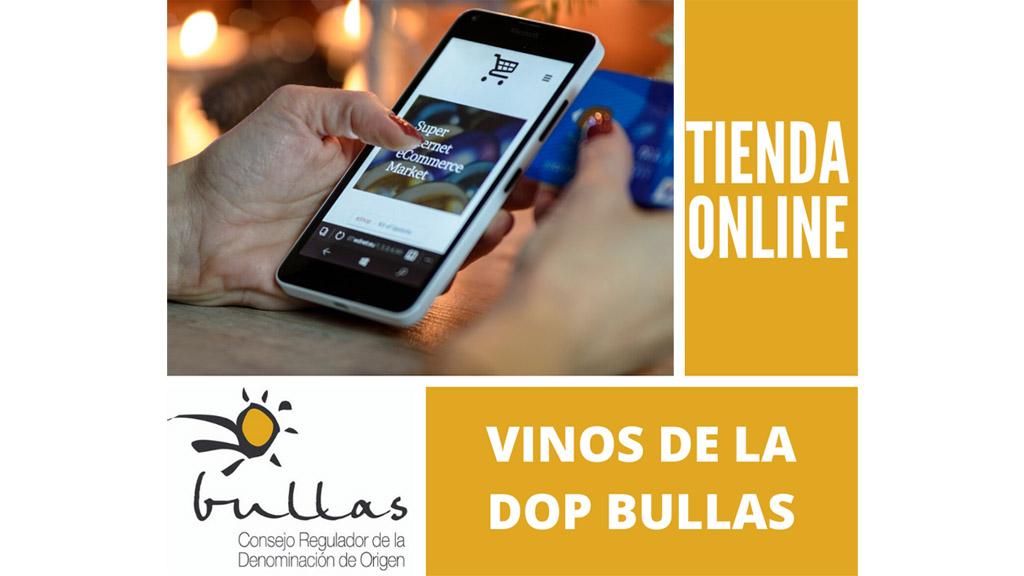 La Denominación de Origen Bullas implanta un espacio en su Web desde el que acceder a toda la oferta de vinos online de las bodegas de la DOP Bullas