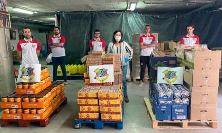 Donaciones al programa municipal de alimentos: Club Baloncesto Mula