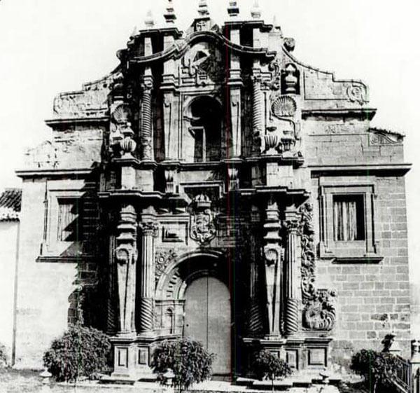 Fachada del castillo 1889