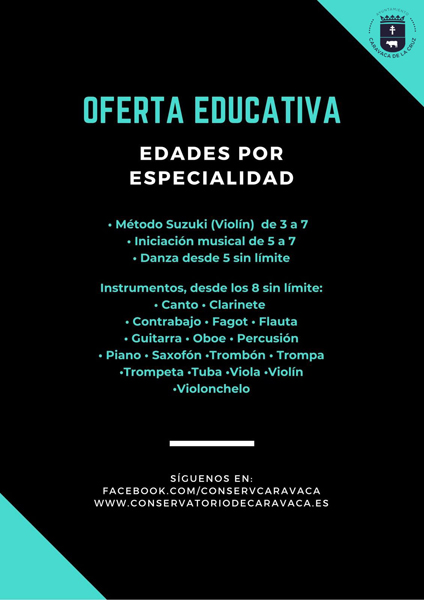 La Concejalía de Educación informa que la solicitud se realiza telemáticamente a través de la sede electrónica del Ayuntamiento (caravaca.sedipualba.es), donde se detallan todos los pasos a seguir