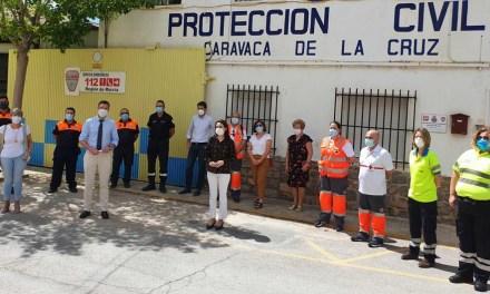 El Ayuntamiento de Caravaca expresa su agradecimiento a Protección Civil y Cruz Roja por la colaboración prestada en los meses de confinamiento con más de dos mil servicios realizados