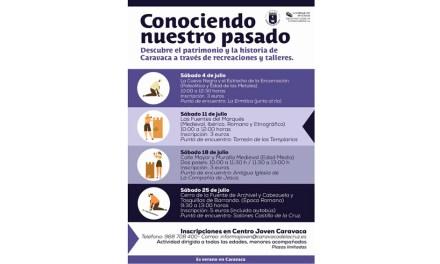 El Ayuntamiento de Caravaca incluye en su programación de verano las actividades de educación patrimonial 'Conociendo nuestro pasado'